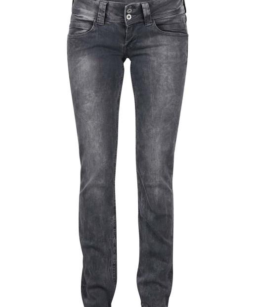 Šedé dámské regular fit džíny Pepe Jeans Venus b4b878afeb