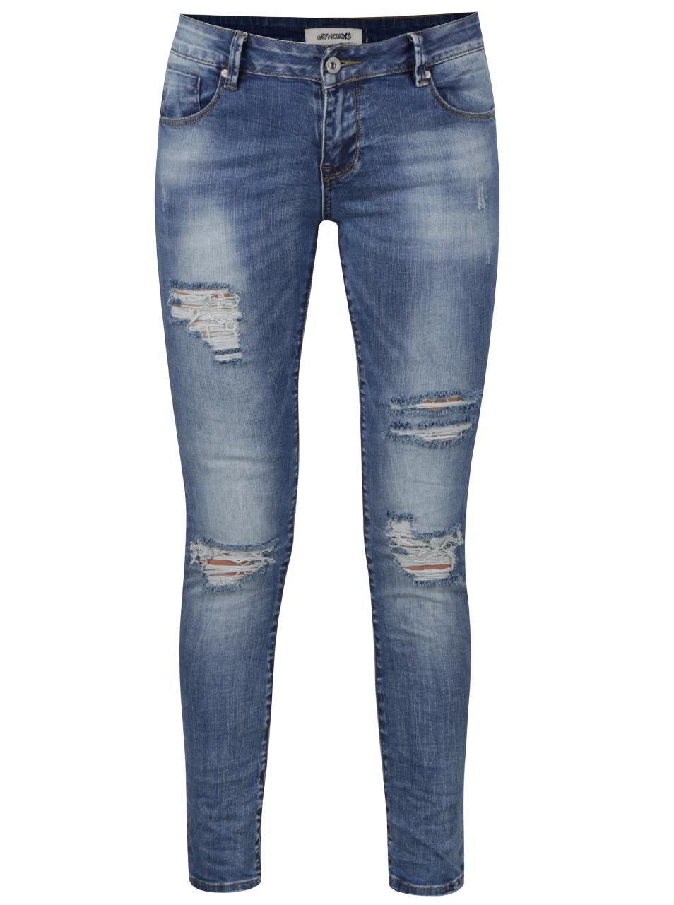 c0da1b6a64f Pro více fotografií navštivte doporučený obchod. U těchto modrých dámských  džín ...