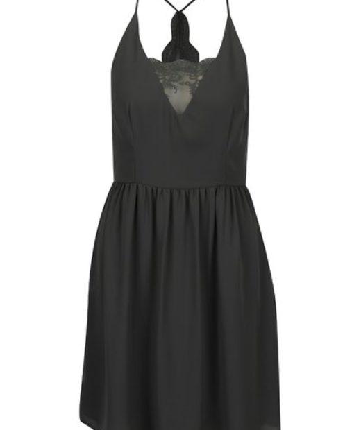 černé krajkové šaty only