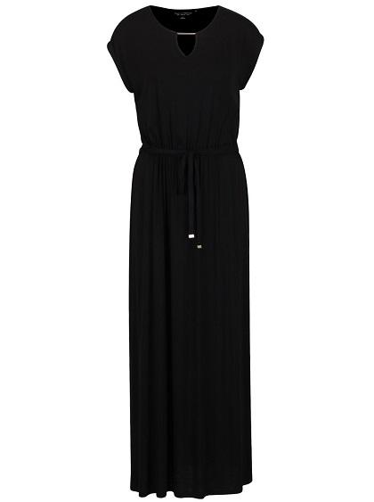 Černé dlouhé šaty Dorothy Perkins