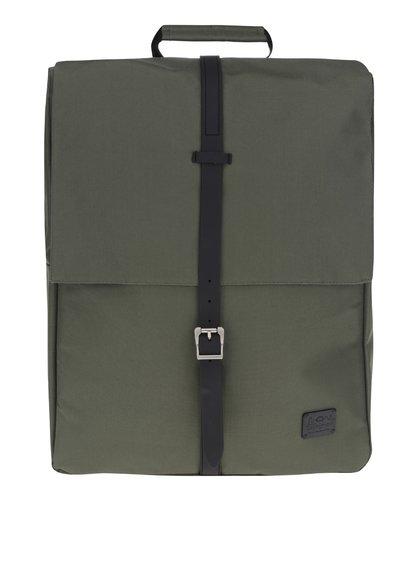 Zelený batoh na notebook