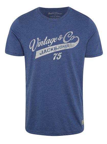Modré triko Vintage Jack a Jones