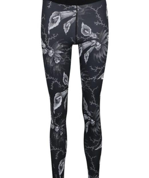 Legíny Nike s květovanými vzory