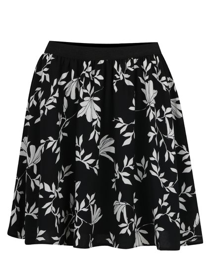 Černo-bílá sukně
