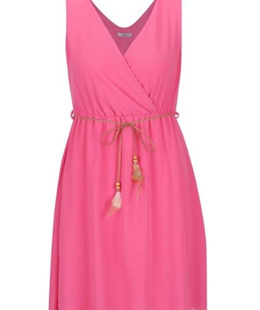 Působivé růžové šaty za skvělou cenu