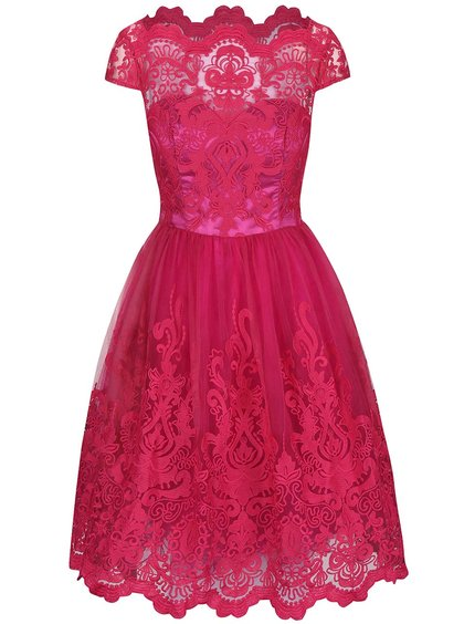 růžové šaty chichi london