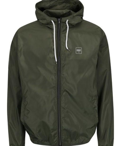zelená šusťáková bunda značky !Solid