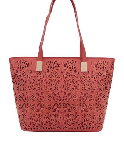 Červená kabelka M a Co