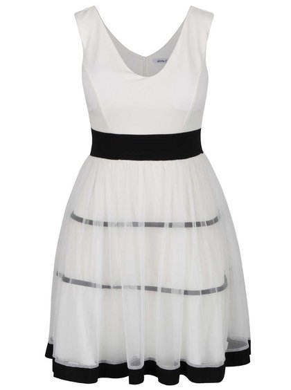 60610944a9c Bílo černé pruhované šaty Haily´s Marita