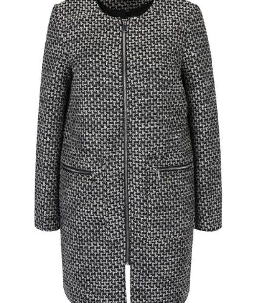 Zajímavý dámský kabát Dorothy Perkins