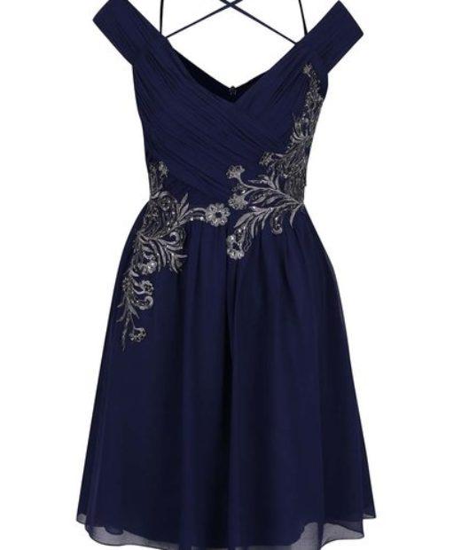 Dámské šaty Little Mistress v modré