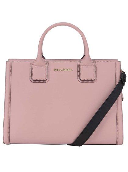 Dámská kožená kabelka luxusní značky Karl Lagerfeld