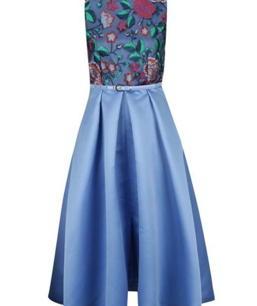 tyrkysové šaty Closet