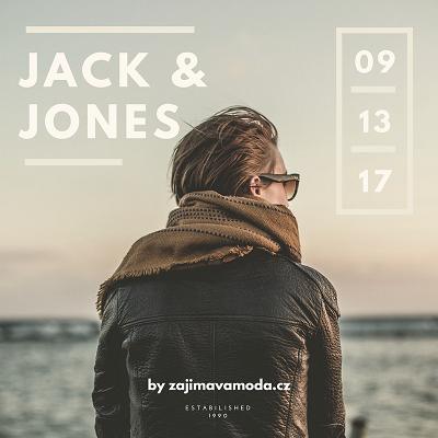 informace o módní značce Jack and Jones
