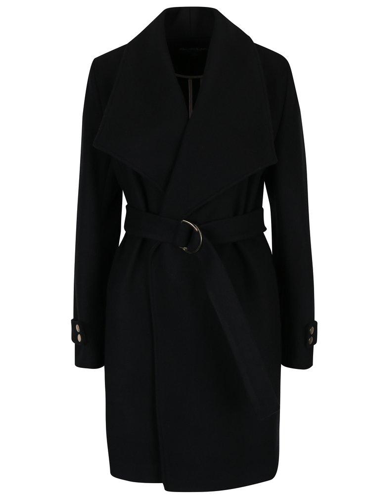 černý podzimní kabát Miss Selfridge
