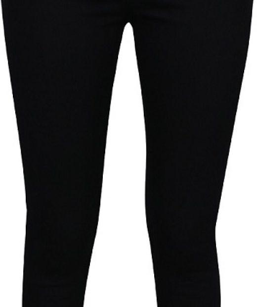 černé dámské džíny s vysokým pasem Noisy May