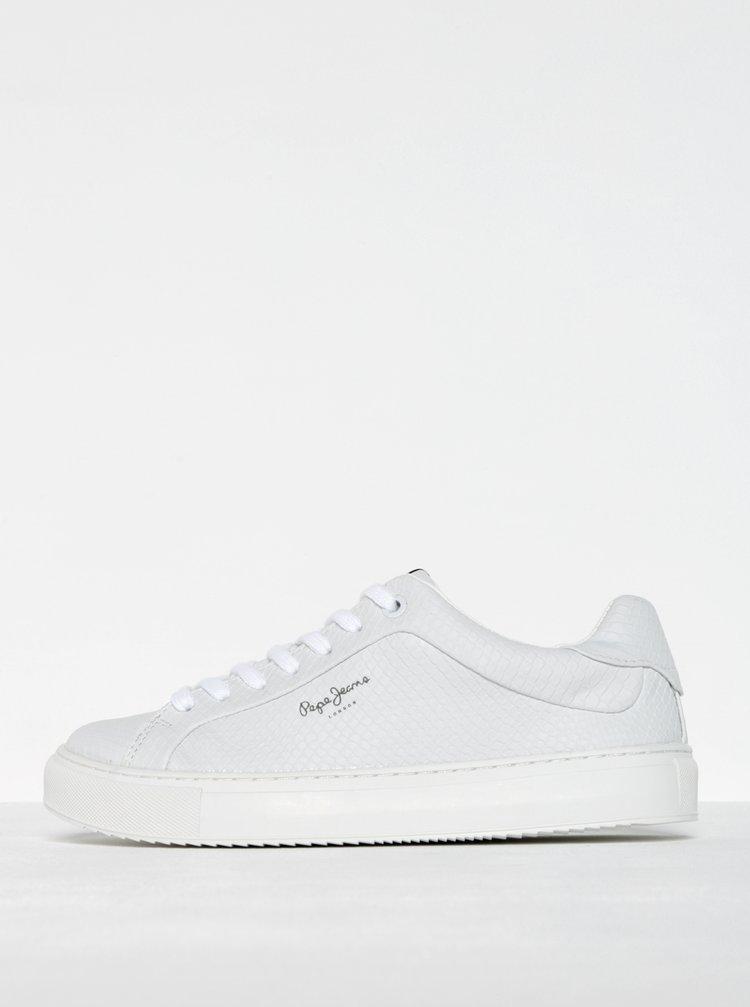 bílé dámské tenisky Pepe Jeans