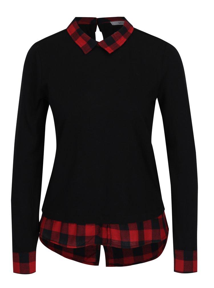 dámské černé tričko Hailys