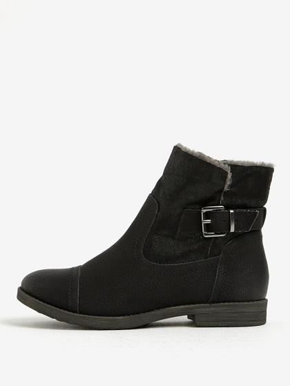 dámské zimní kotníčkové boty Tamaris