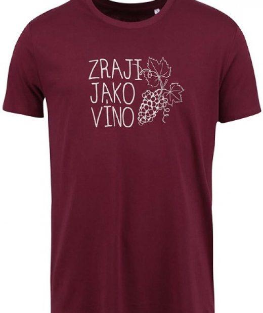 vínové pánské triko ZOOT original