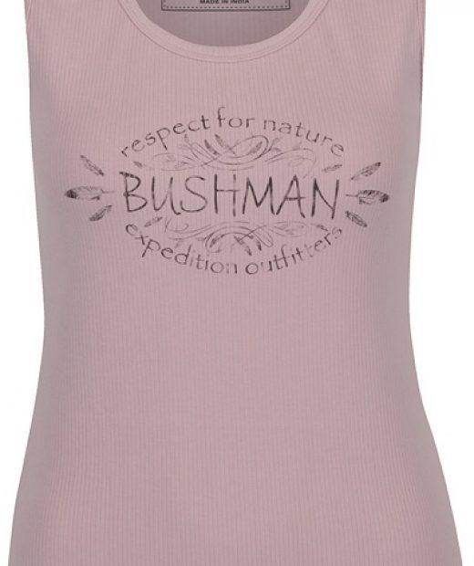 dámské tílko v růžové barvě značky Bushman