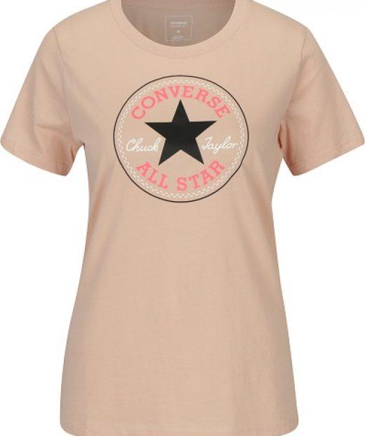 dámské světlé krémové tričko Converse