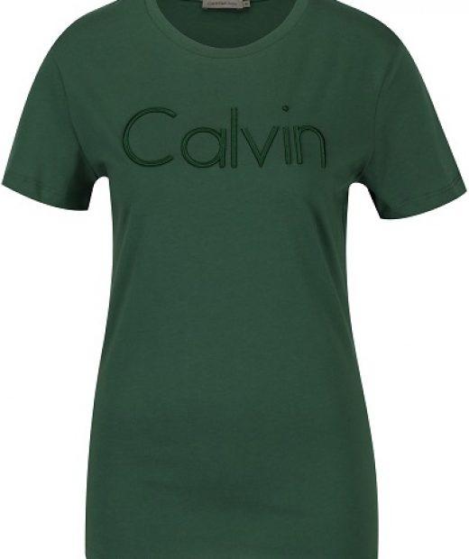 precizní provedení dámského trička od značky Calvin Klein