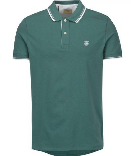 elegantní polo triko s logem Selected Homme