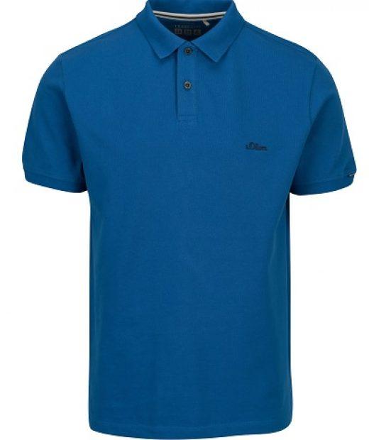 pánské polo triko v modré barvě značky s.Oliver