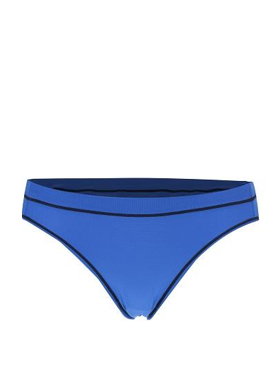 modré dámské sportovní kalhotky s černými detaily Maidenform